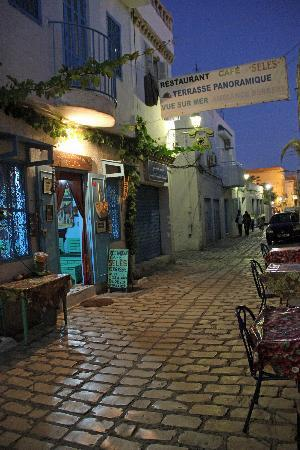 Restaurant Cafe Seles : rue