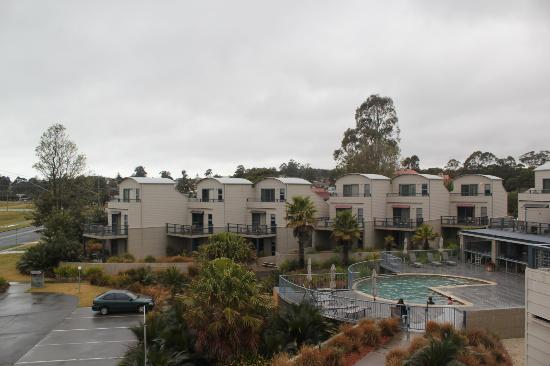 Corrigans Cove: View from balcony at other units