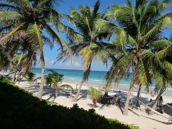Hotel Cabanas Tulum: Lovely hotel beach