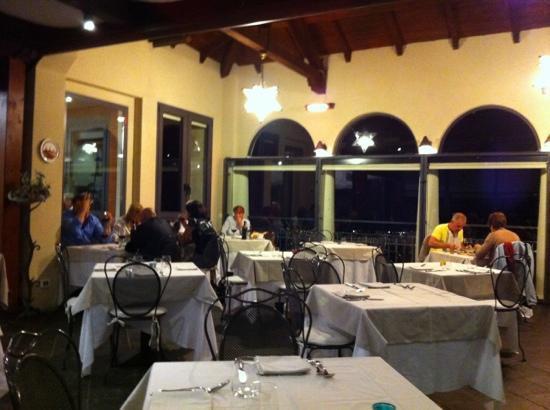 La Terazza Restaurant - Picture of Hotel Titano, City of San Marino ...