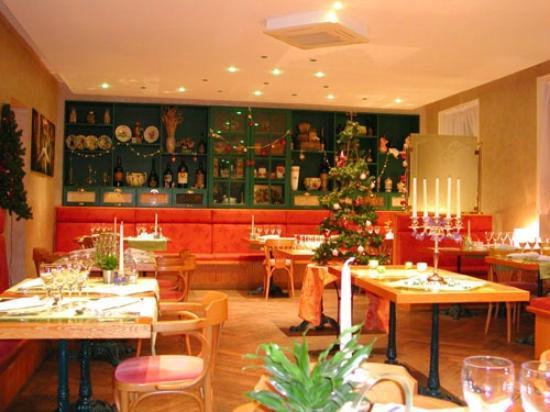 Le Petit Comptoir: Salle de restaurant