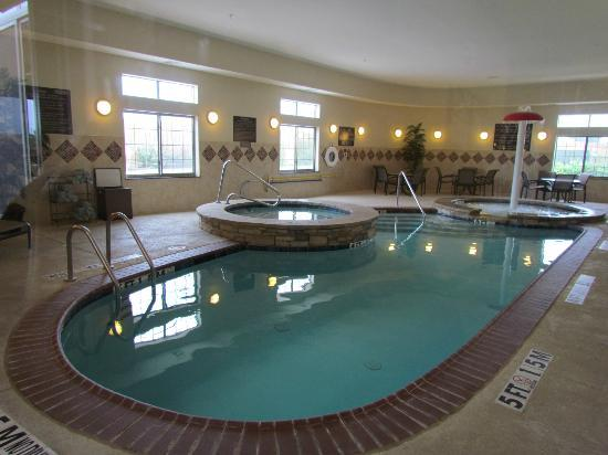 SpringHill Suites Waco Woodway: Indoor pool and spa