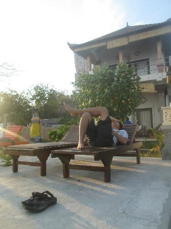 Bubu Racok Homestay: Enjoy sunrise here