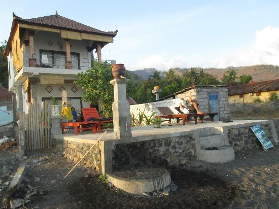 Bubu Racok Homestay: Full homestay view