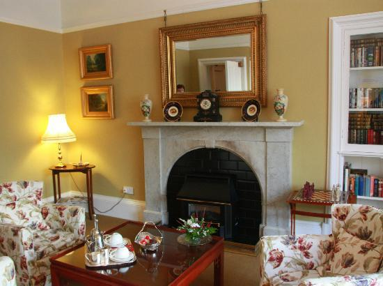 Annfield Guest House: Fire Place