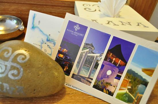 Aana Resort & Spa: Free postcard
