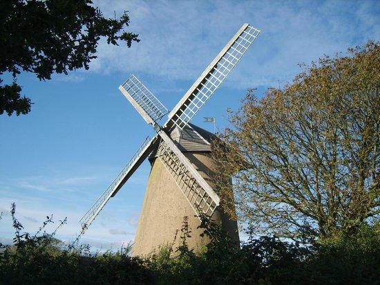 Bembridge Windmill: Front view