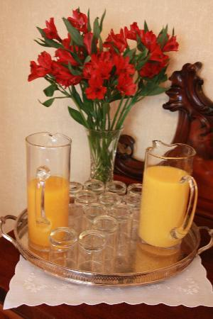 Annfield Guest House: Fresh Juices