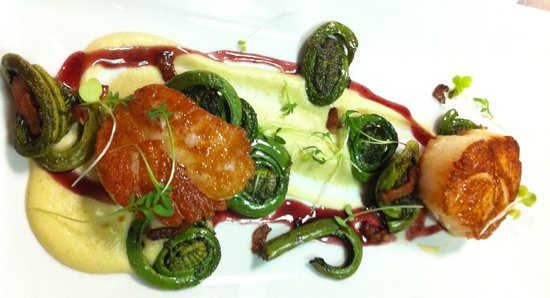bc Restaurant: bc scallop special changes nightly