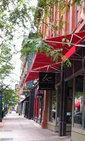 bc Restaurant: bc's Fayette Street facade