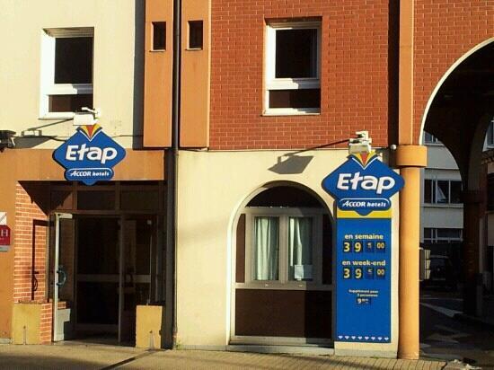 Egg Hôtel : Etap h?tel Dieppe