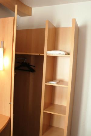 Hotel Ibis Lisboa Jose Malhoa: Closet