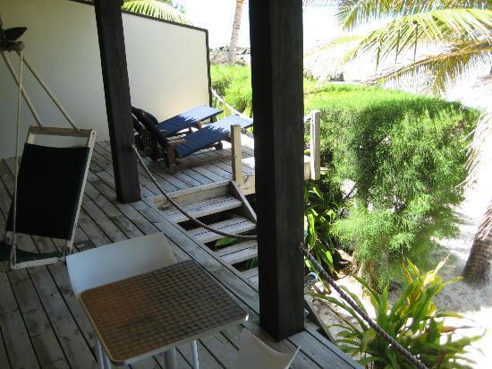 Rendezvous Villas: Villa 1 - Deck