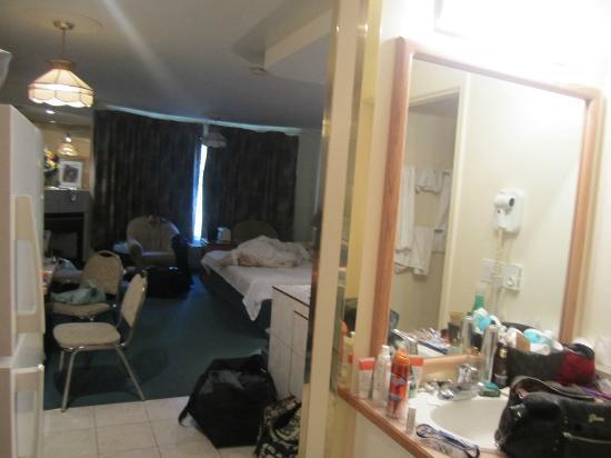 Western Budget Motel Red Deer #2 : View from the door