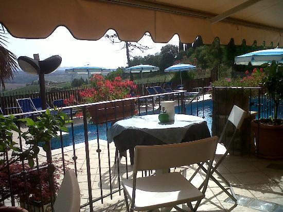 Villa Veronica: la piscina 