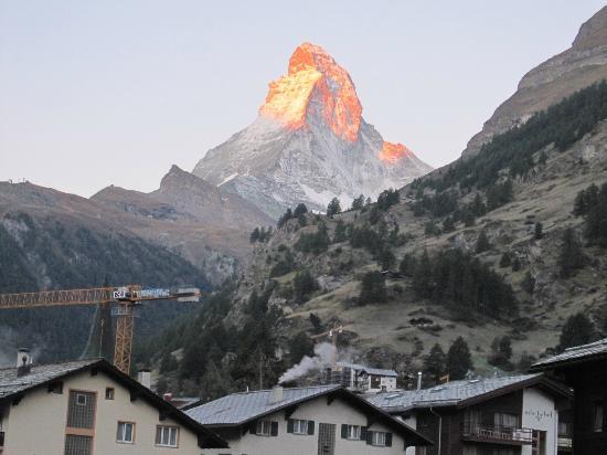 Hotel Metropol & Spa Zermatt: 部屋からの眺め