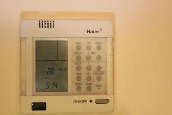 Malaga Hotel Picasso: Flexible temperature control