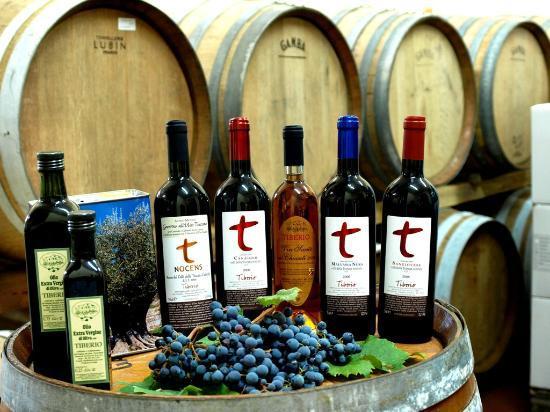 Agriturismo Tiberio: Vini e Olio