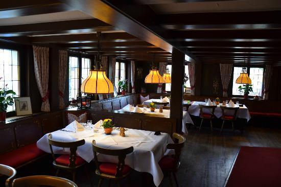 Hotel Schiff Schluchsee: Restaurant Untere Stube