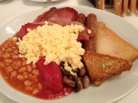 Shelbourne Hotel: The ample cooked breakfast