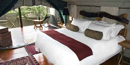 Black Leopard Camp: Interior Luxury Tent