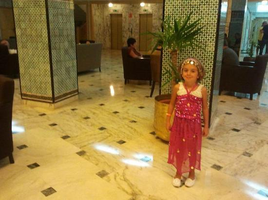 Hotel Marhaba Beach: the lobby