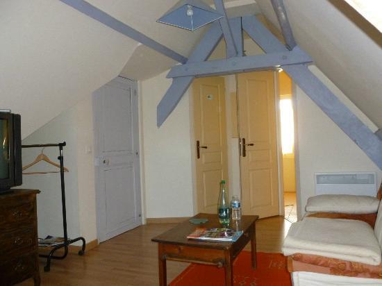 La Gironnette : Attic room