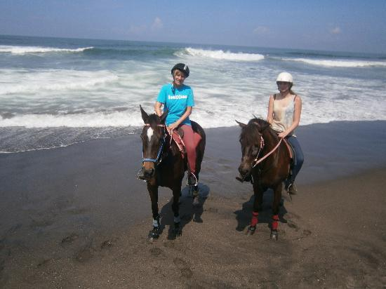 Kuda P Stables, Bali Horse Riding Experience: beach ride