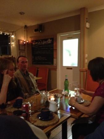 Gloria's Food: cricket dinner at Gloria's!