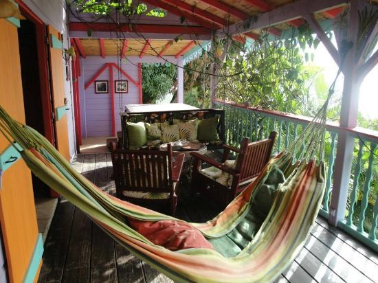 Tendacayou Ecolodge & Spa: terrasse Case Mamoune