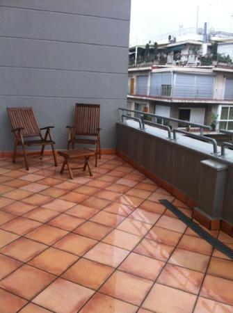 เมเลีย กรานาดา โฮเต็ล: balcony at Granada Melia