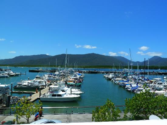 Shangri-La Hotel, The Marina, Cairns: View from balcony