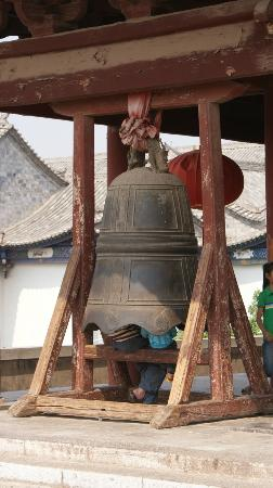 Jianshui Ancient City: Bell on West Gate