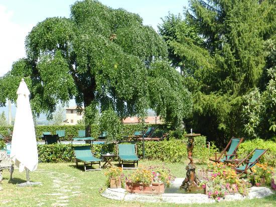 Villa Scacciapensieri: Garden