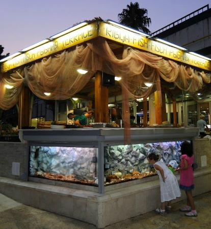 Hotel Mogren: Fish Restaurant Kitchen
