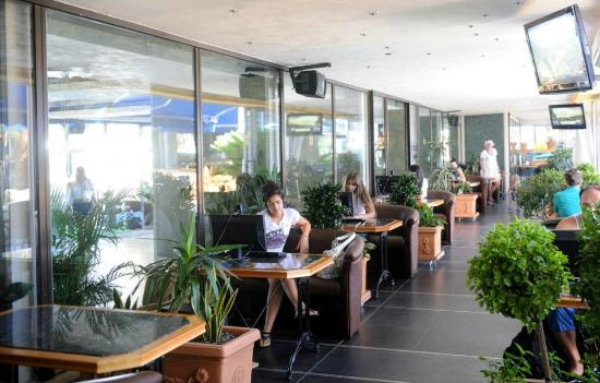 Hotel Mogren: Internet Caffe