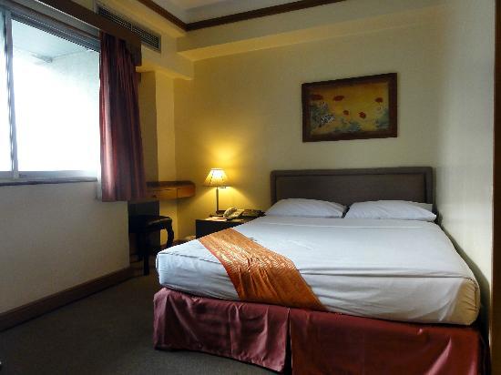 Silom City Hotel: 部屋からの眺め1