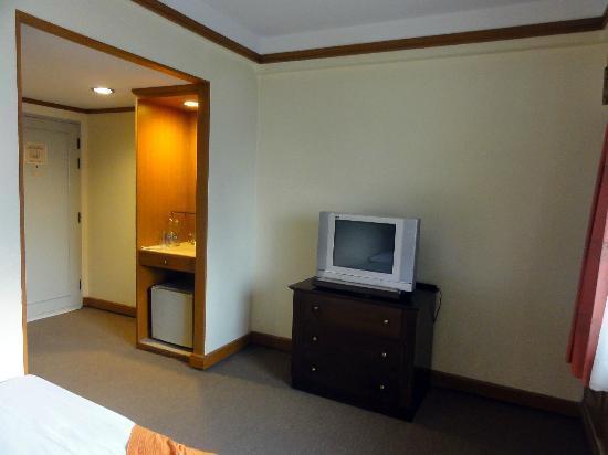 Silom City Hotel: 部屋からの眺め2