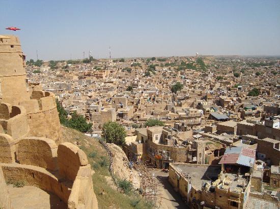 Sagar Guest House: city view