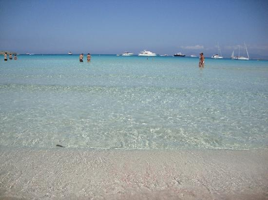 Strand Playa de ses Illetes: Spiaggia