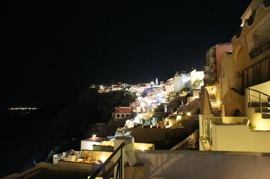 Villa Renos: Night view from our room