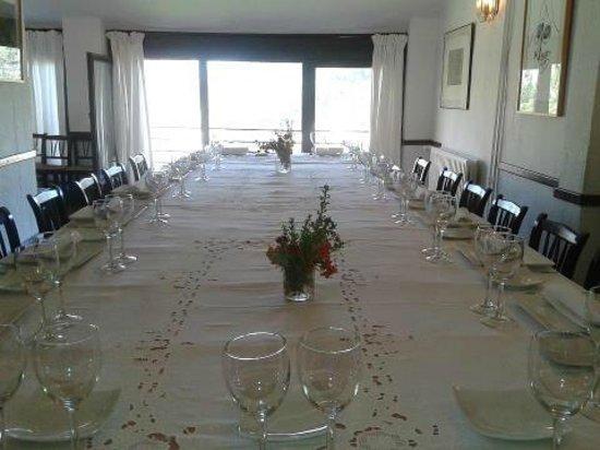 Restaurante de la Posada de San Jose: La mesa donde comimos