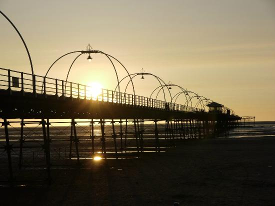 Southport Pier: Sunset