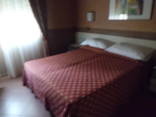 Hotel Vittoria : camera confotevole e silenziosa