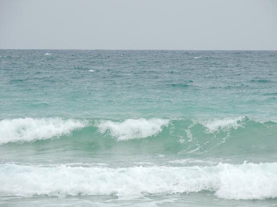 Radhanagar Beach: Emerald green water