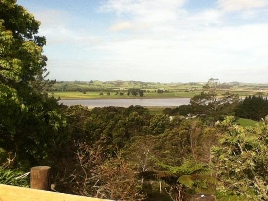 Dargaville Holiday Park: the muddy river as some people call it