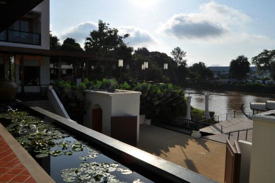 Ratilanna Riverside Spa Resort Chiang Mai : vista habitacion