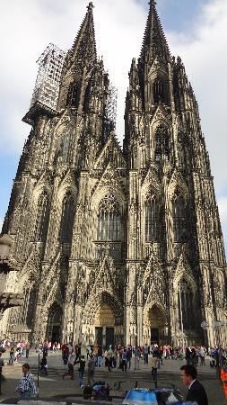 Hotel Coellner Hof : gorgeous cathedral!