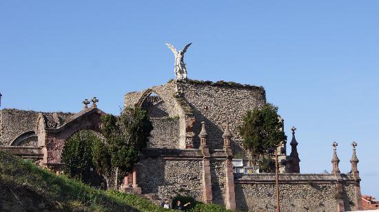 Cementerio de Comillas: Angel exterminador