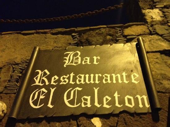 El Caleton: Restaurante